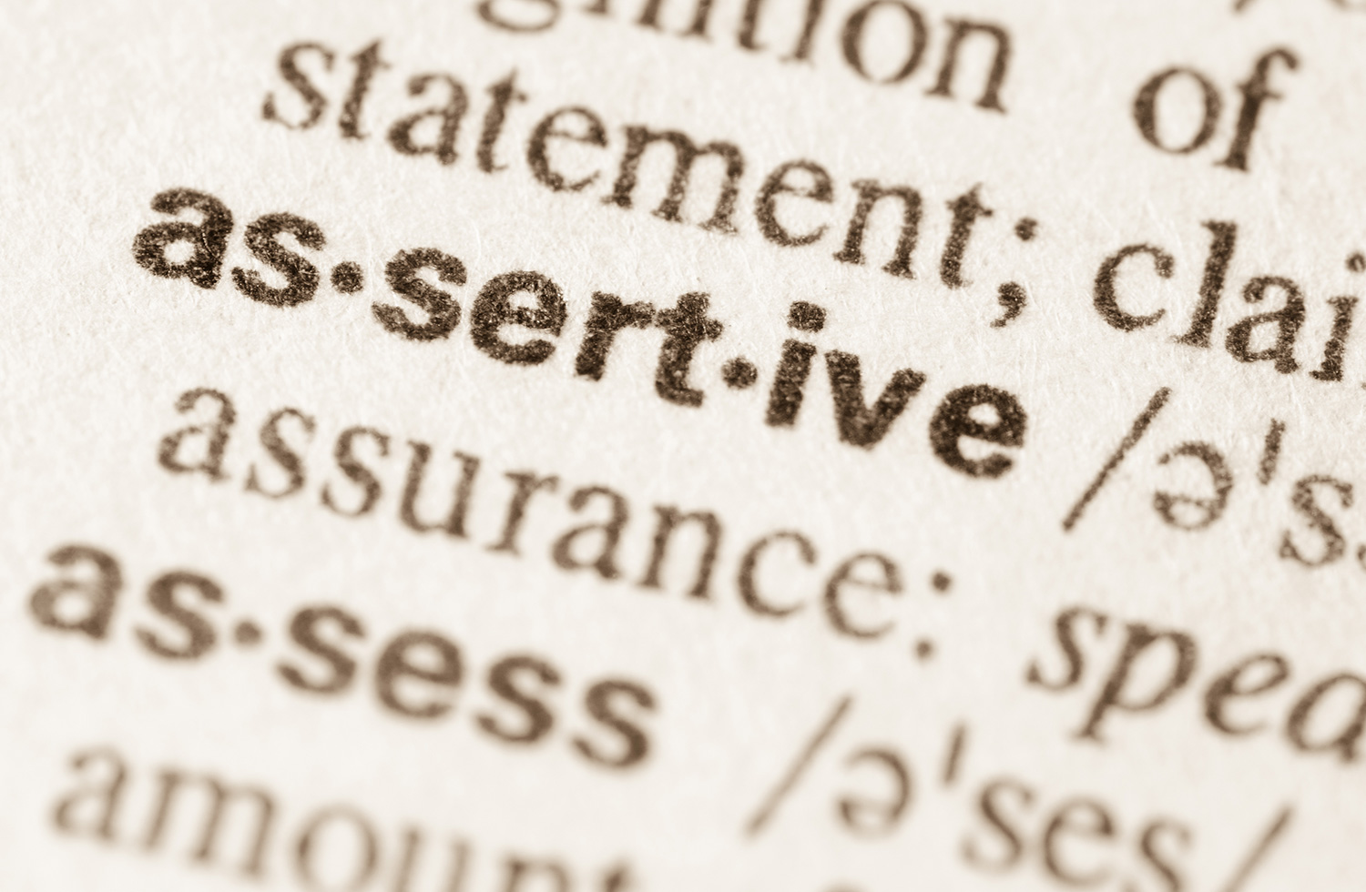 You are currently viewing Assertiveness and getting your needs met